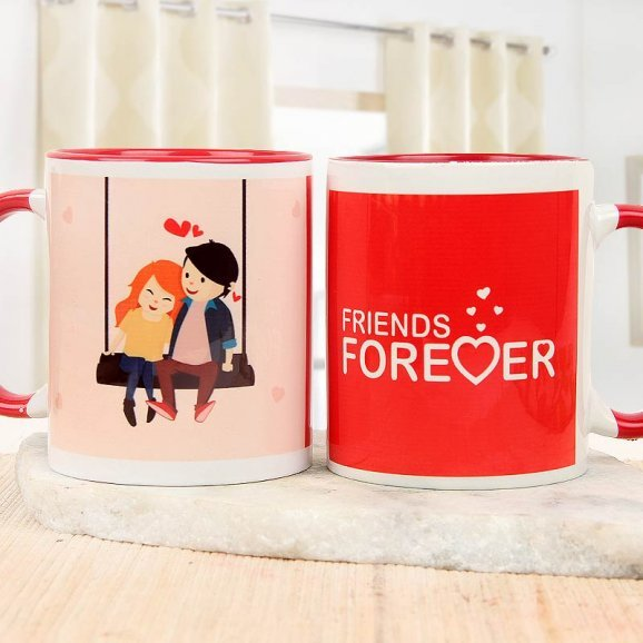 Close to the Heart Friendship Day Mug with Both Side View