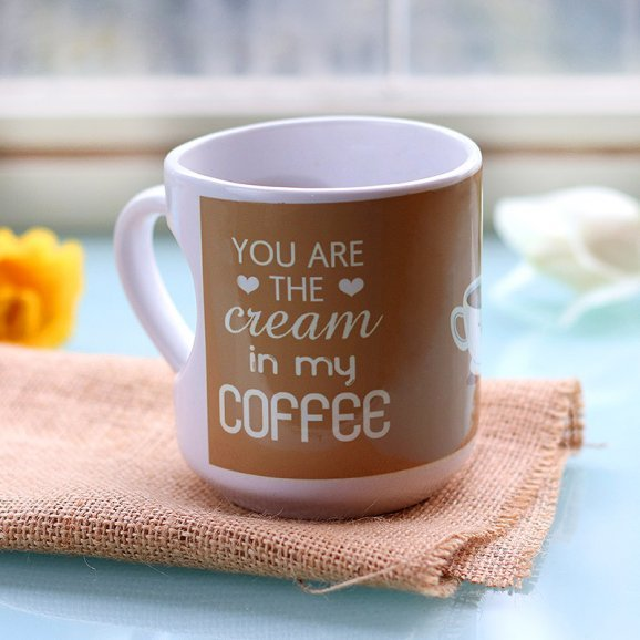 Lovers Coffee Printed Mug