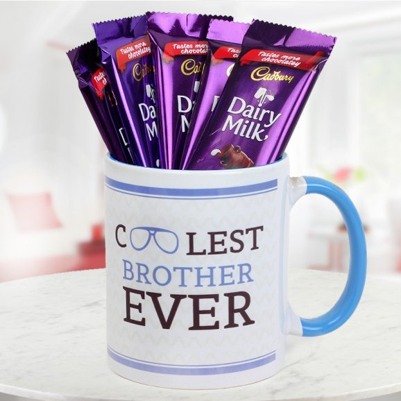 Gift cool brother mug to your brother