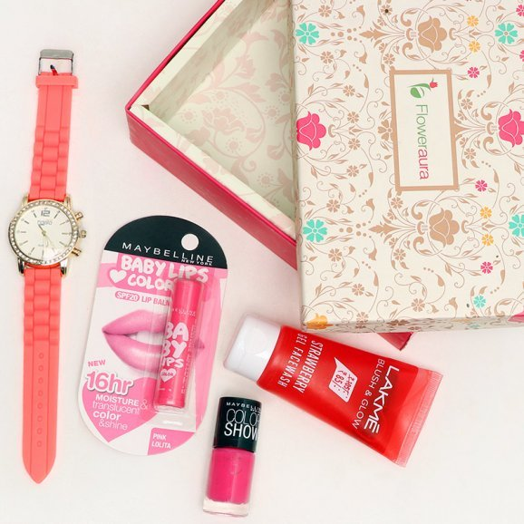 Top View of Diva Lady Gift Set