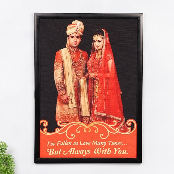 Personalised Photo Frame for Couple