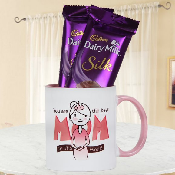 Especially For Mom Mug and Chocolates