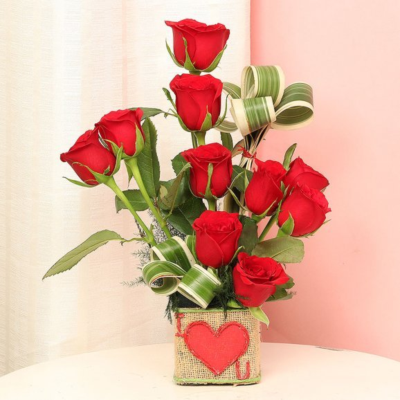 Bunch of Red Roses for Your Love