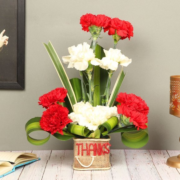 Bunch of Mixed Carnations