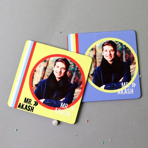 Two Personalised Coasters