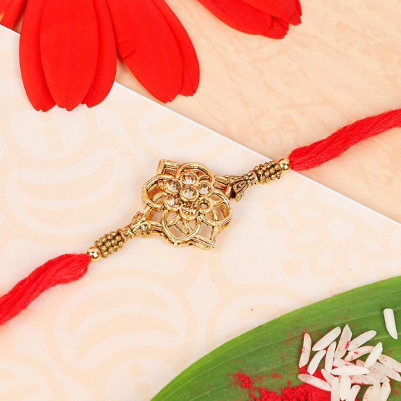 Floral Bliss Rakhi
