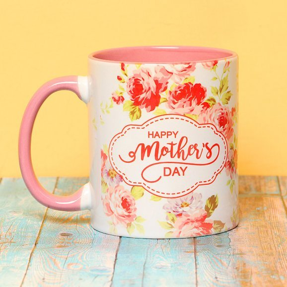 Floral Touch - A Mug Gift for Mothers Day