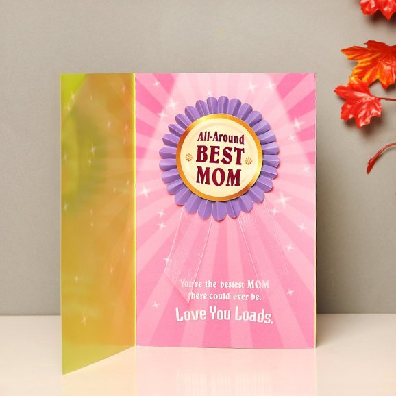 Second Page of For You Mom Greeting Card