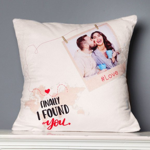 Personalised Love Cushion with Closer View