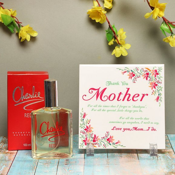 Fragrance of Love - A Gift Combo of Perfume and Card