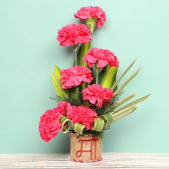 Bunch of Pink Carnations for Mom
