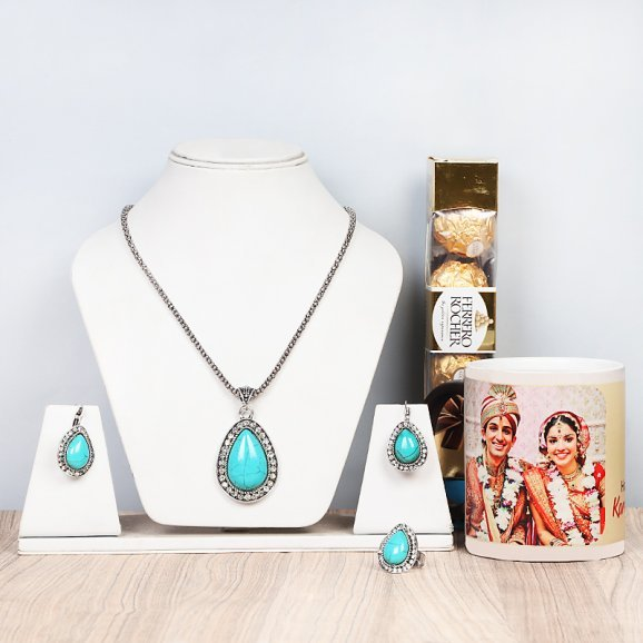 Personalised Karwa Chauth Gift Set