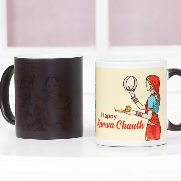 Karwa Chauth Printed and Photo Mug