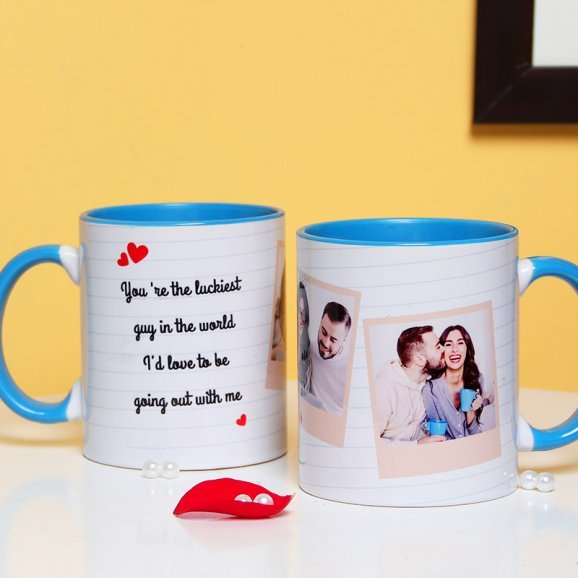 Personalised Love Mug with Both Side View