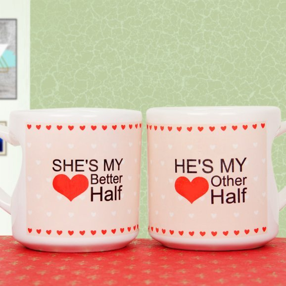Pair of mug for couple