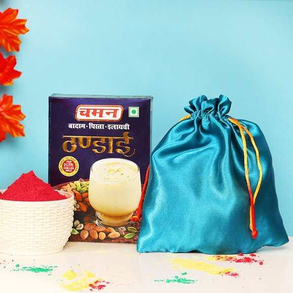 Holi Color with Thandai Combo