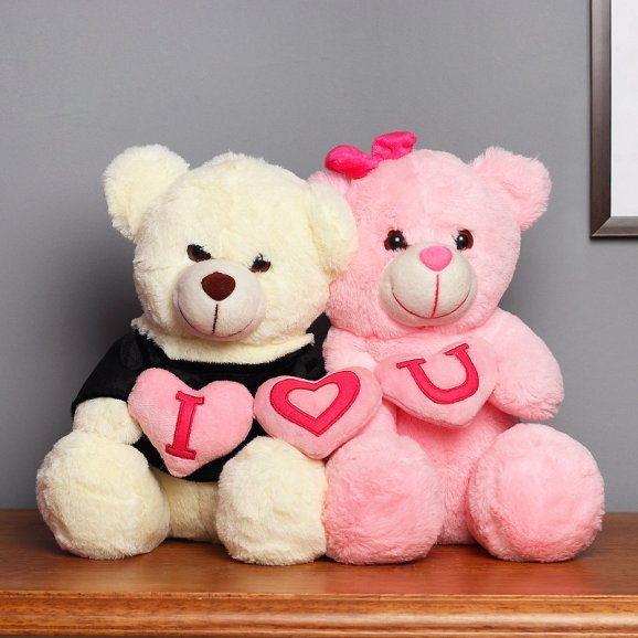 I Love You Couple Teddy