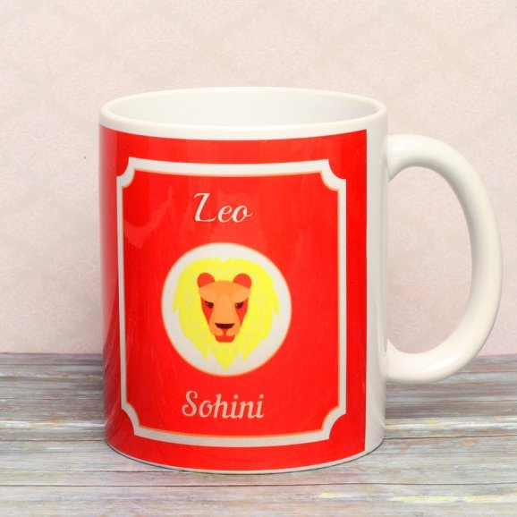 Personalised Mug for Leo People