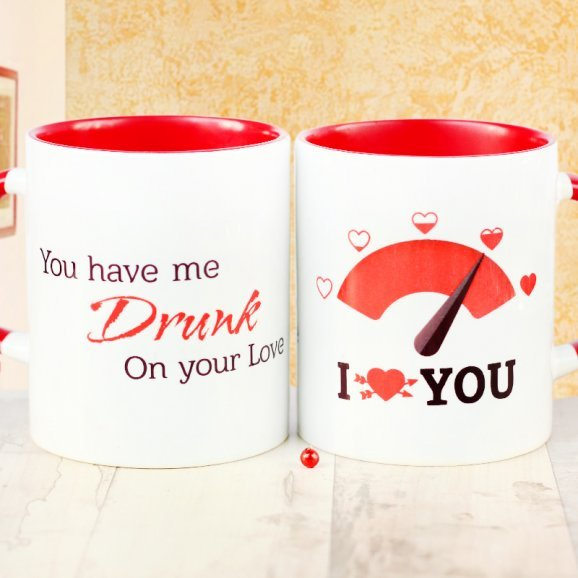 Love Meter Mug with Quote