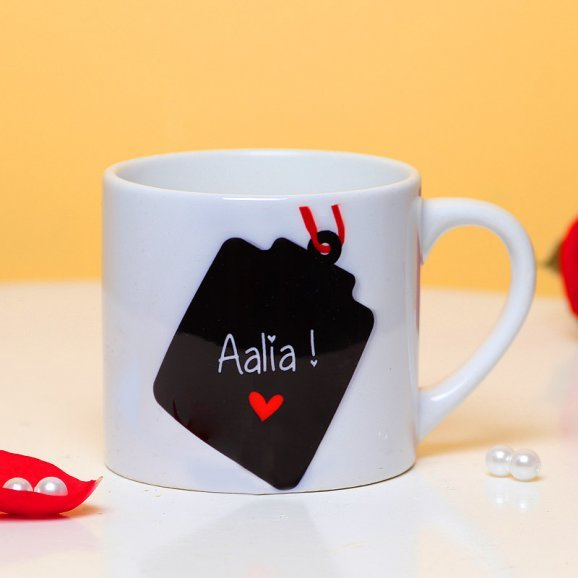 Personalised Name Mug with Front Sided View