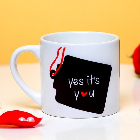 Personalised Name Mug with Back Sided View