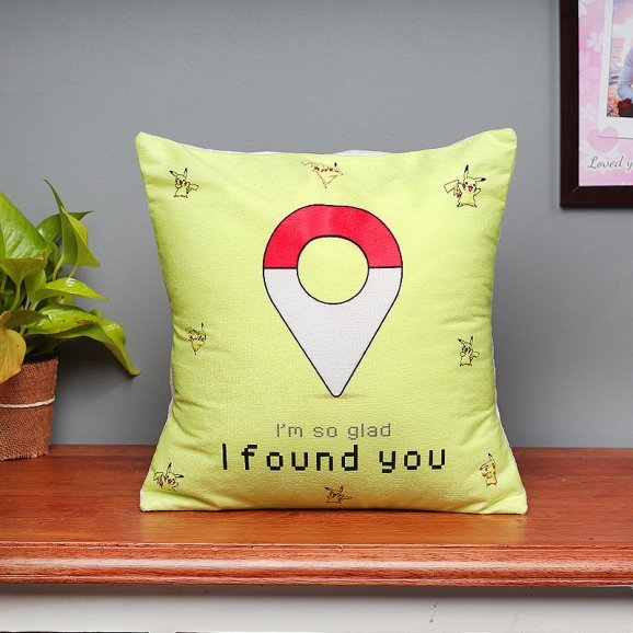 Lucky To Find You Printed Cushion
