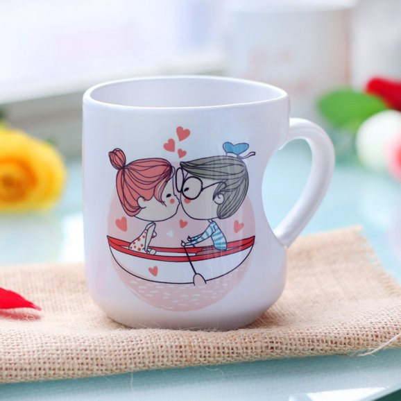 Love Thing Printed Mug with Front View
