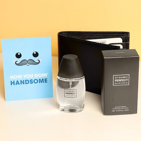 Manly Den - Gift Combo of Perfume and Wallet