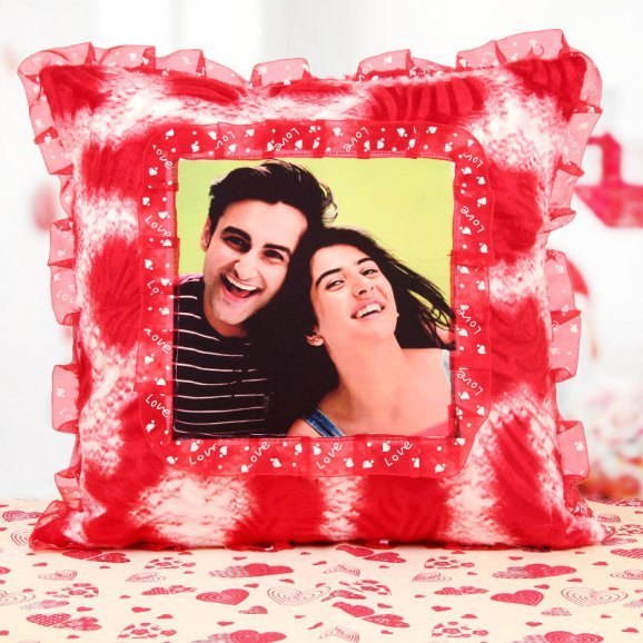 Meant To Be Together Cushion - A Photo Pillow