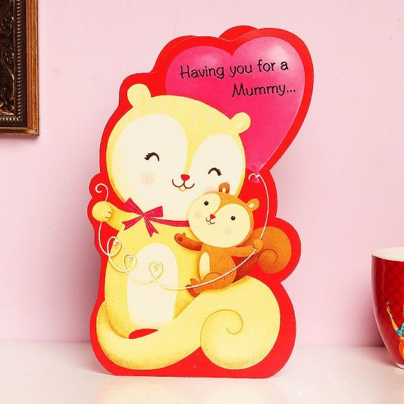 Love Greeting Card for Mom