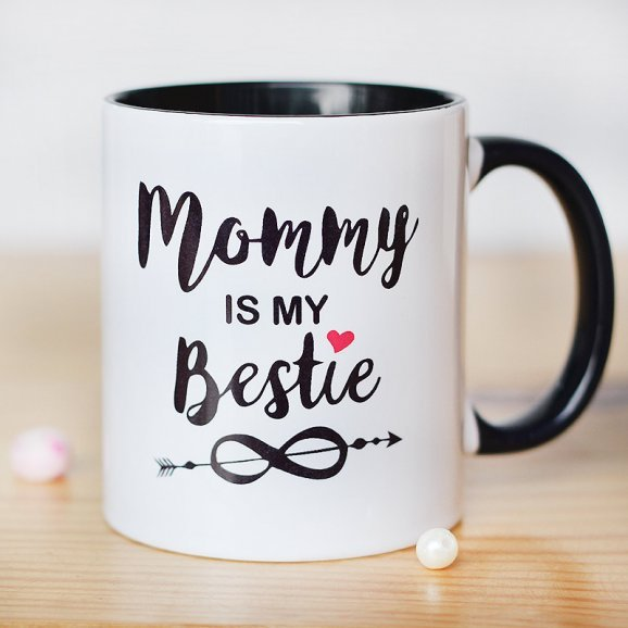 Mommy is My Bestie Mug with Front View