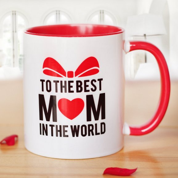 My Amazing Mom Mug with Front Side View