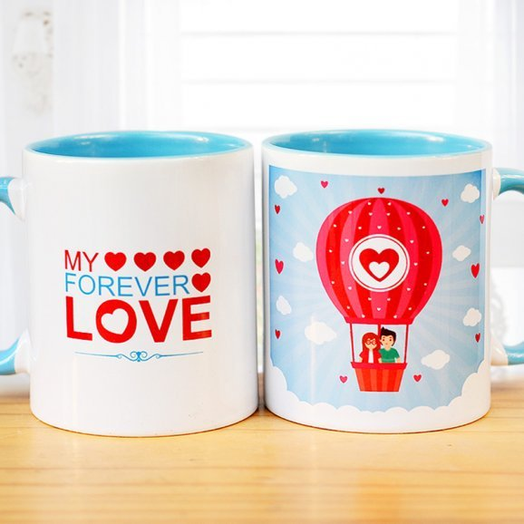 My Forever Love Mug with Both Sided View