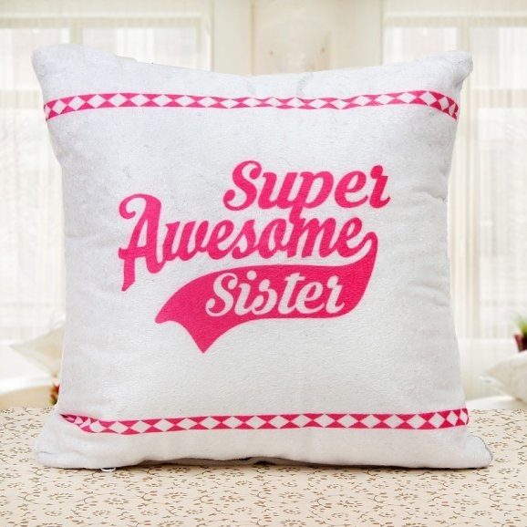 Super Awesome Sister Cushion