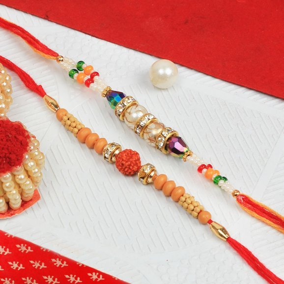 Adorable Set of 2 Rakhi
