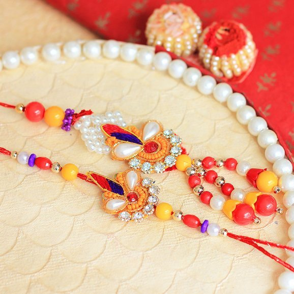 Colourful Adoration Rakhi