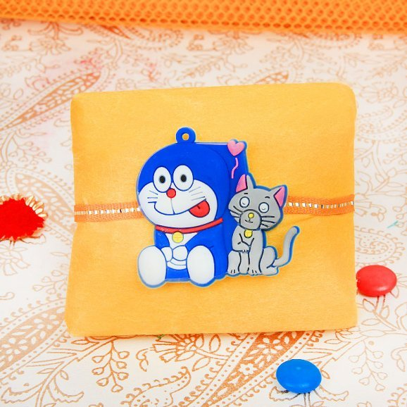 Delighting Doraemon Rakhi
