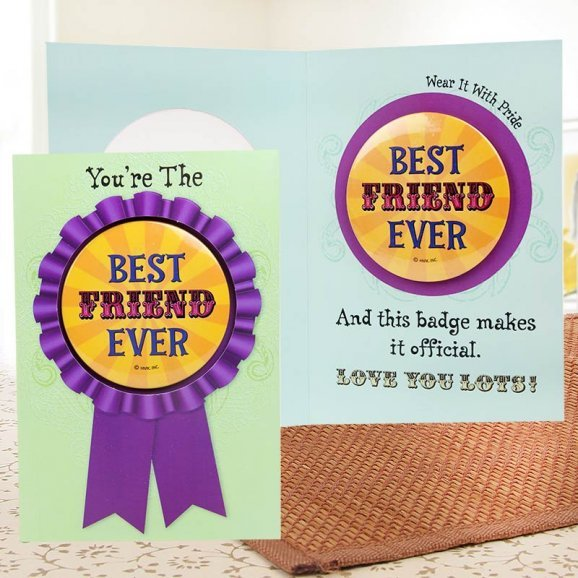 Now and Forever Friendship Day Card