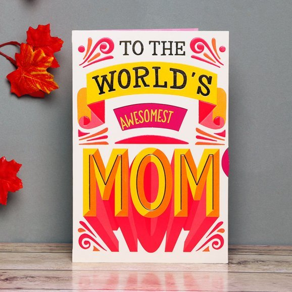 One in a Million Greeting Card for Mom