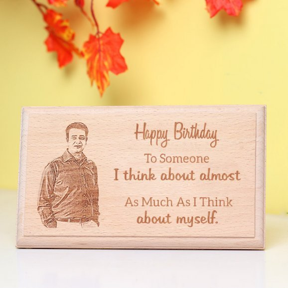 Personalised Wooden Frmae for Birthday