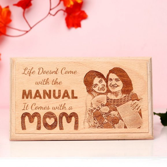 Personalised Wooden Frame for Mom