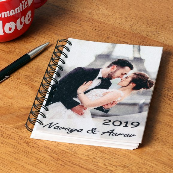 Personalised New Year Notebook