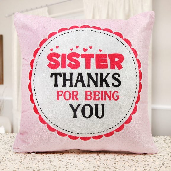 Realm of Love and Affection Sister Cushion