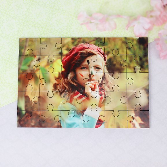Personalised Jigsaw Puzzle Gift