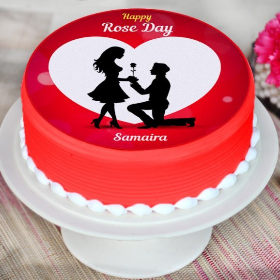 Theme Cake for Rose Day