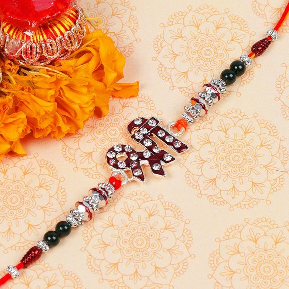Shri Diamond Rakhi for Brother