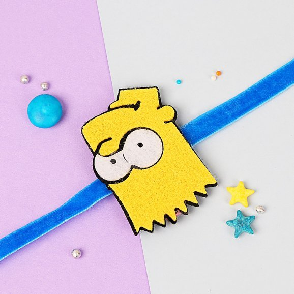 Simpson Rakhi for Kids