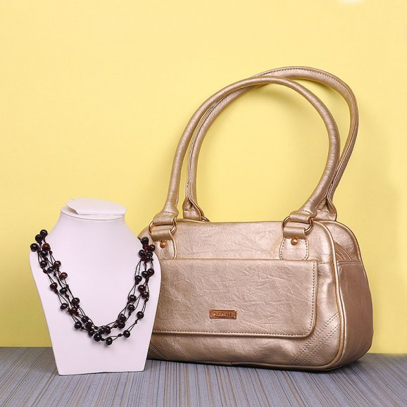 Necklace with Handbag Gift Combo
