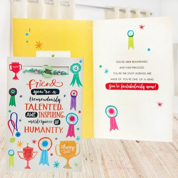 Spreading Happiness Friendship Day Card
