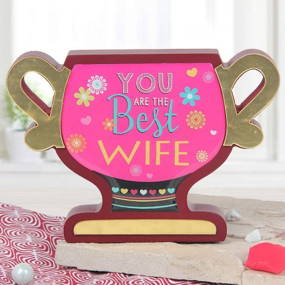 You are the best wife award gift